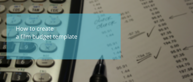 Create film budget template